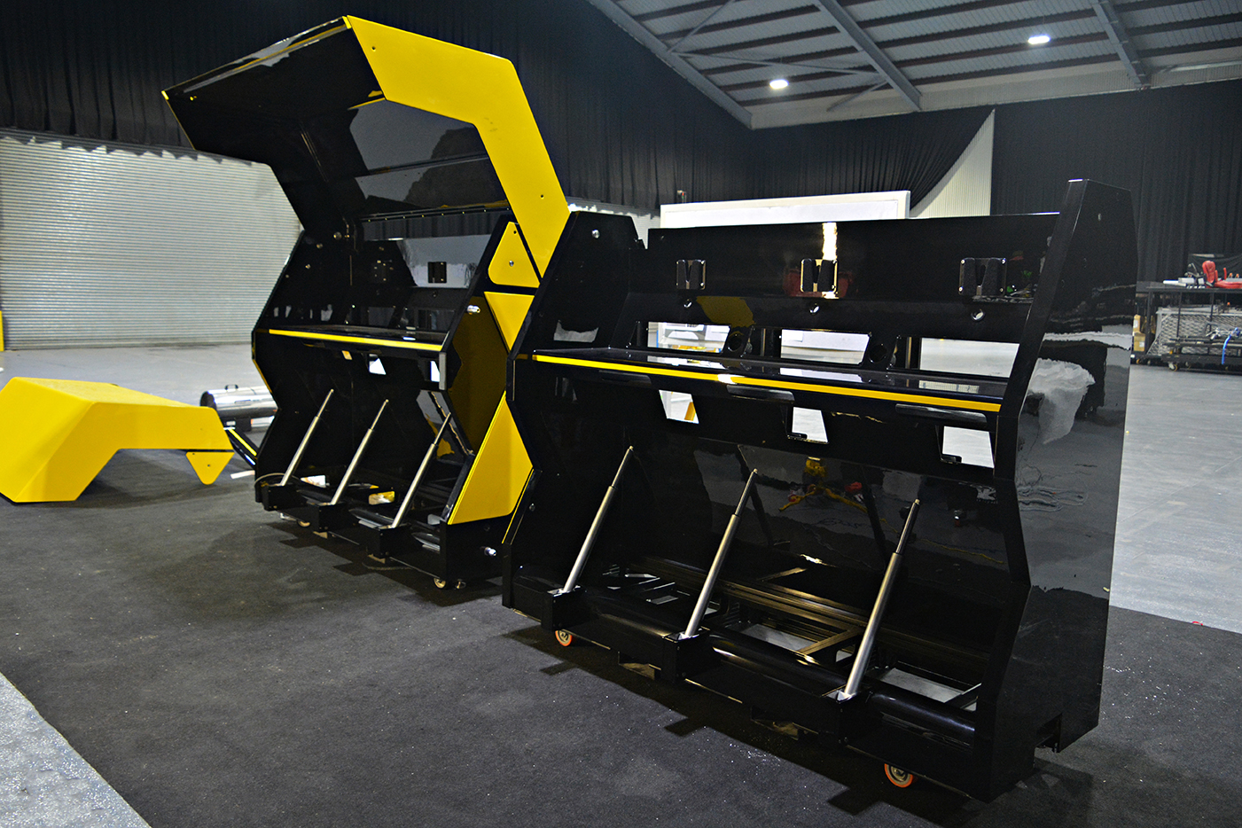 Renault F1 Pit wall Telemetry pods